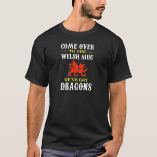 Camiseta T de Galês Cymru