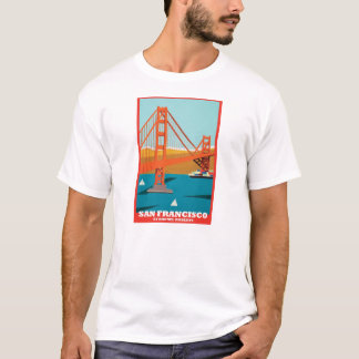 Camiseta T de golden gate bridge 75th por Rhonel