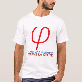 Camiseta T de Grèce do la do comme do soumise da OU do