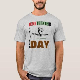 Camiseta T de JUNETEENTH