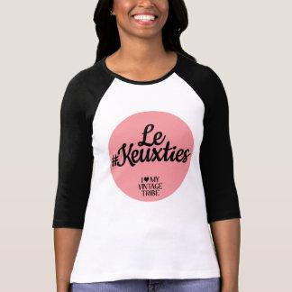 Camiseta T de Le #Keuxties Raglan