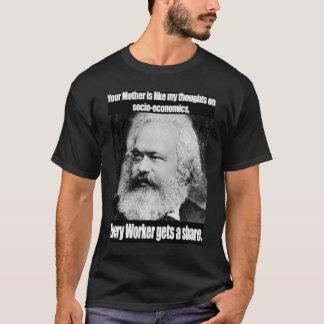Camiseta T de marx