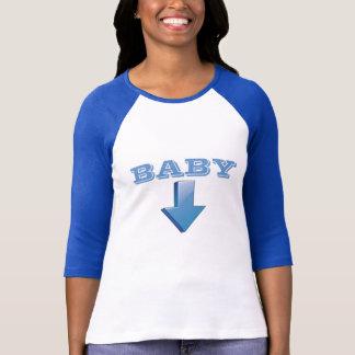 Camiseta T de maternidade retro