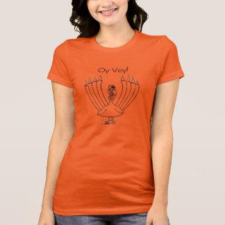 Camiseta T de Oy Vey Turquia - mulheres