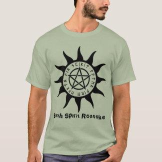 Camiseta T de Roanoke do espírito da terra