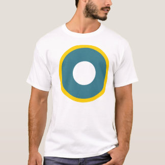 Camiseta T de Roundel do comando do RAF India
