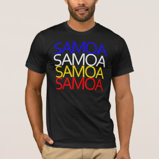 Camiseta T de Samoa