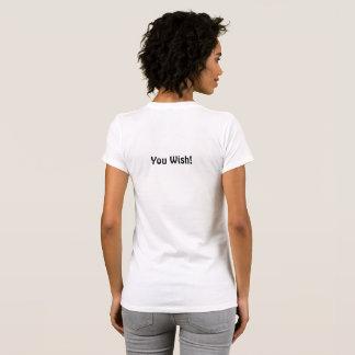 Camiseta T de Snarky! Agradável na parte dianteira. Do meio