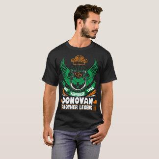 Camiseta T de St Patrick do irlandês da legenda de Donovan