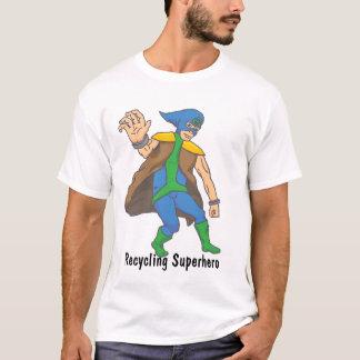 Camiseta T de Superero do reciclagem de Blake