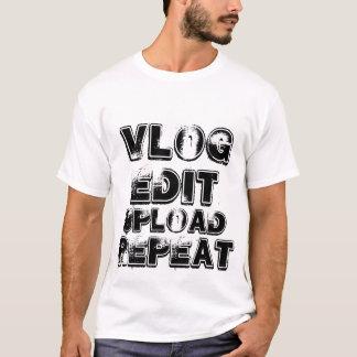 Camiseta T de Vlog
