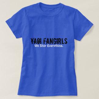 Camiseta T de Yaoi Fangirl