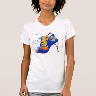 Camiseta T destruído cabeleireiro