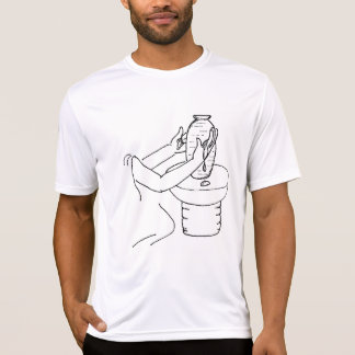 Camiseta T do Active dos homens do oleiro