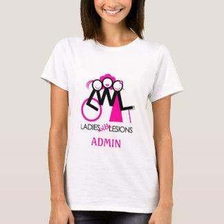 Camiseta T do Admin