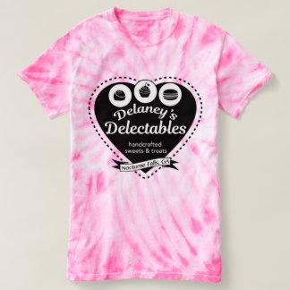 Camiseta T do algodão doce do Delectables de Delaney