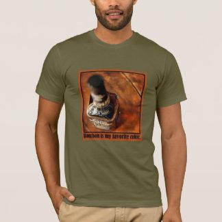 Camiseta T do amante de Bourbon; Bourbon é minha cor