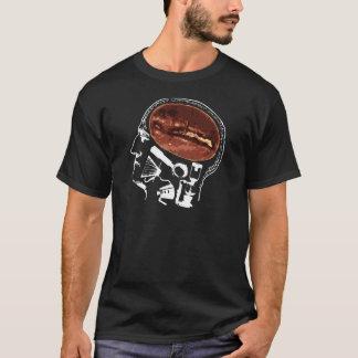 Camiseta T do amante do café e do café