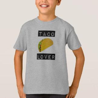 Camiseta T do amante do Taco