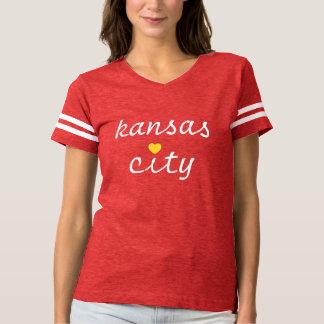 Camiseta T do amor de HelloKc Kansas City
