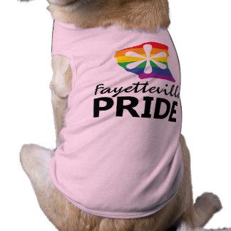 Camiseta T do animal de estimação do orgulho de