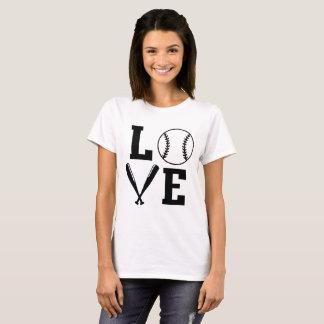 Camiseta T do basebol