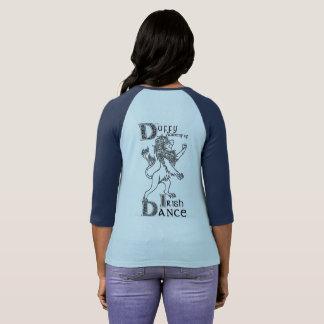 Camiseta T do basebol da academia de Duffy