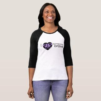 Camiseta T do basebol das senhoras de PCDH19 Alliance