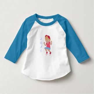 Camiseta T do basebol de JoJo (CRIANÇA)