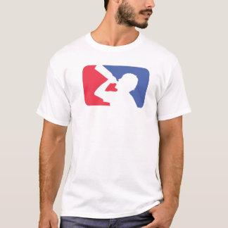 Camiseta T do bebendo da liga principal