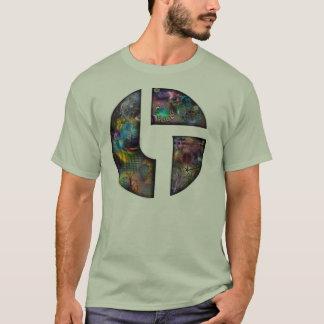 Camiseta T do biscoito do disco