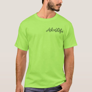 Camiseta T do bolso de Aloelife
