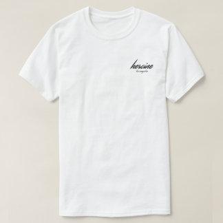 Camiseta T do bolso de Los Angeles da heroína