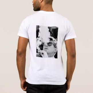 Camiseta T do bolso dos amis JFK dos mes do avec