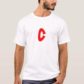 Camiseta T do branco de BIOC