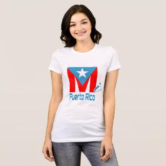 Camiseta T do branco do MI Puerto Rico