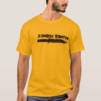 Camiseta T do caçador do zombi do design de DJS