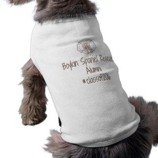 Camiseta T do cão dos alunos de BSR - 2016