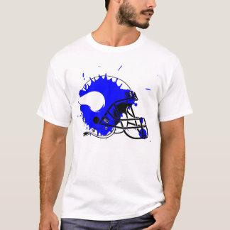 Camiseta T do capacete do respingo de Wareham Viquingues