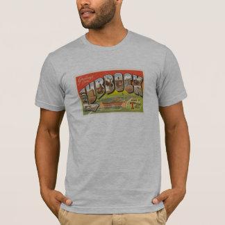 Camiseta T do cartão da tecnologia de lubbock Texas do