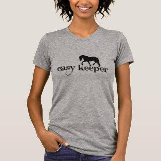 """Camiseta """"T do cavalo do depositário fácil"""""""