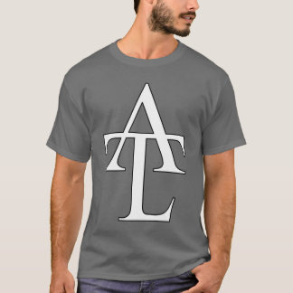 Camiseta T do cinza de ATL