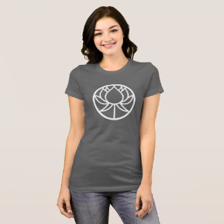 Camiseta T do círculo de Lotus