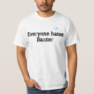 Camiseta T do clube de fãs de Baxter