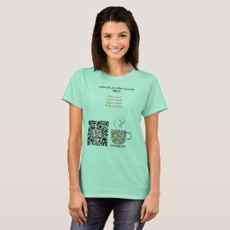 Camiseta T do código de QR