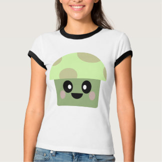 CAMISETA T DO COGUMELO DE KAWAII SHROOM