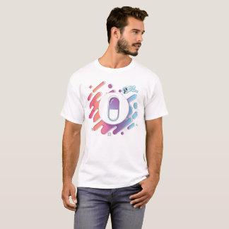 Camiseta T do comprimido do inclinação