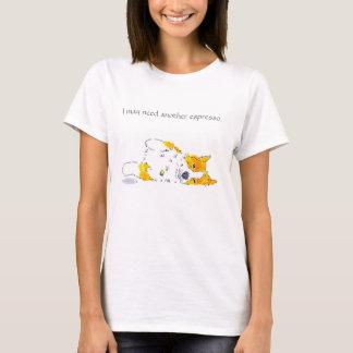 Camiseta T do Corgi do café