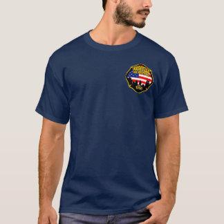 Camiseta T do departamento do fogo de Nashville Tennessee