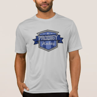 Camiseta T do desempenho do prodígio